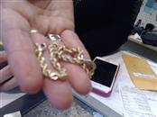 Gold Rope Bracelet 10K Yellow Gold 7.9dwt